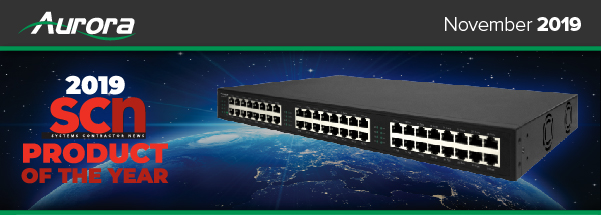 IP-24PoE+ 2019 SCN Product of the year