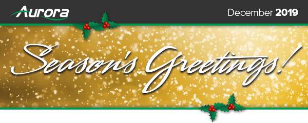 Season's Greetings from all of us at Aurora Multimedia!